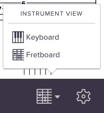 Screenshot of keyboard toggler